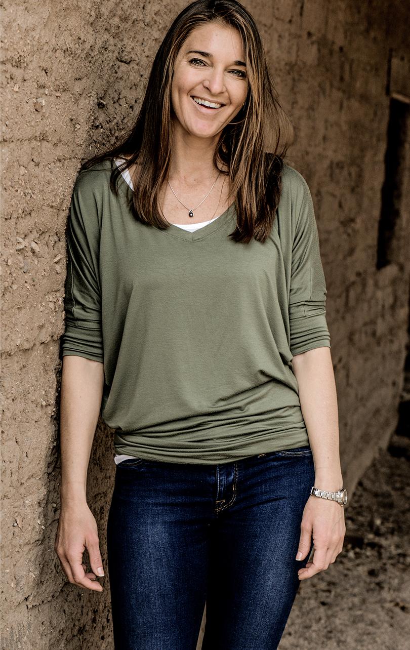 Spiritual mentor Koelle Simpson